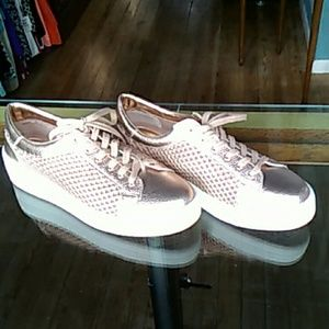 New Steven Natural Comfort Copper Colored Sneakers